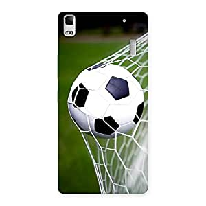 Delighted Goal Green Back Case Cover for Lenovo A7000