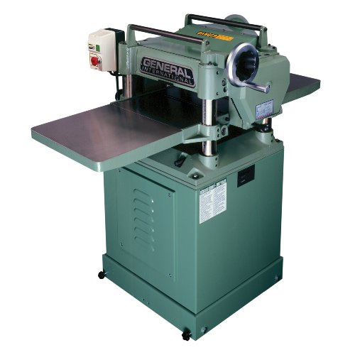 General International 30-125CEM1 3 HP 15-Inch Single Surface Planer