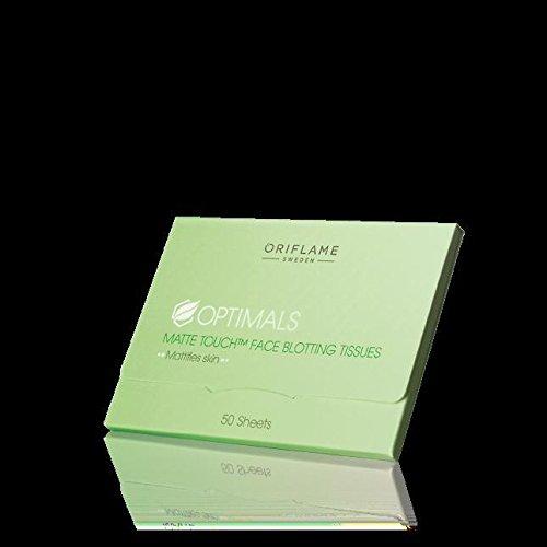 Oriflame optimals matte touch face blotting tissues
