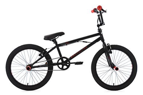KS-Cycling-Bmx-Freestyle-Scandium-Fahrrad-Schwarz-Rot-20