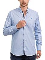 JACK WILLIAMS Camisa Hombre (Azul)