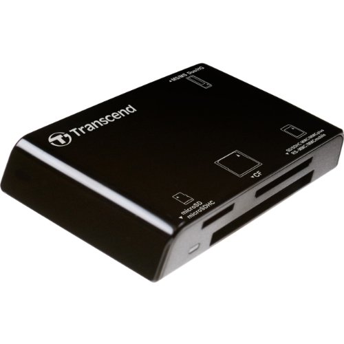 CARD READER, ALL IN ONE,P8, BLACK