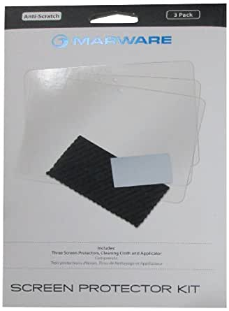 MaBlue Kindle Fire HD Anti-Scratch Screen Protector 3-Pack (2nd Generation - 2012 release)