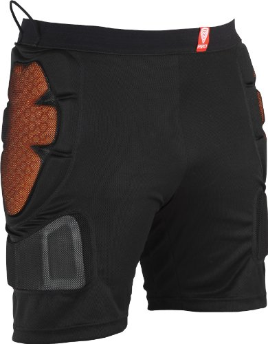 Red Total Impact Men's Shorts - Black, Small