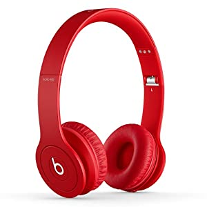 Beats Solo HD On-Ear Headphone (Discontinued by Manufacturer -  Red)