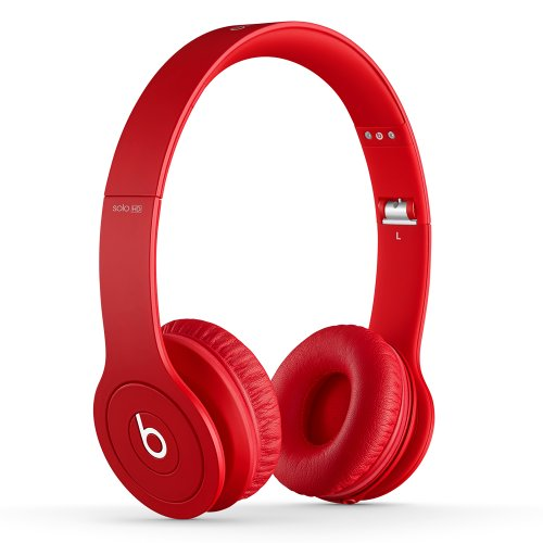 Beats Solo HD On-Ear Headphones (Drenched in Red)