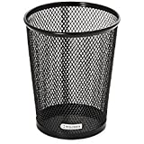 2X Rolodex Mesh Collection Jumbo Pencil Cup, Black (62557)
