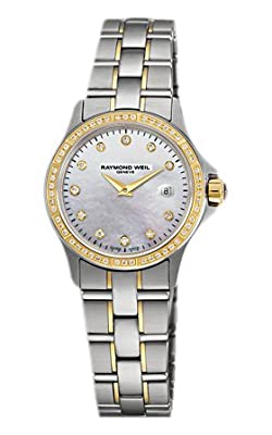 Raymond Weil Parsifal Mother of Pearl Dial Ladies Watch 9460-sgs-97081 from Raymond Weil