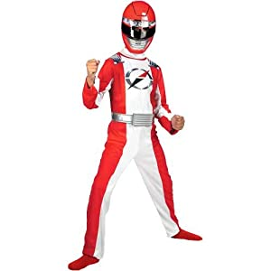 Red Power Ranger Quality Child Costume