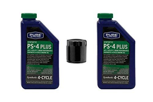 POLARIS PS-4 OIL FILTER CHANGE KIT SPORTSMAN ATV RANGER 330 400 500 550 850
