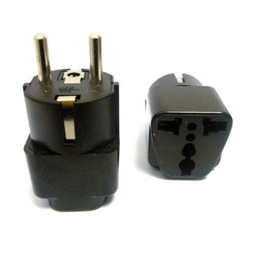 Generic Grounded-Euro Heavy-Duty Power Converter Adapter Portable Consumer Electronics Home Gadget
