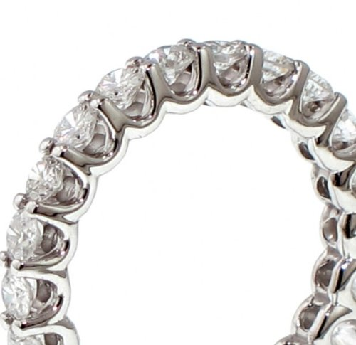 2.50 CT TW Round Diamond Eternity Wedding Band