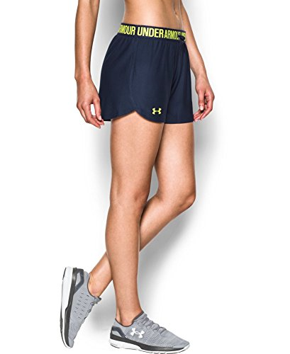Under Armour Women's Play Up Shorts, Midnight Navy (415), Large