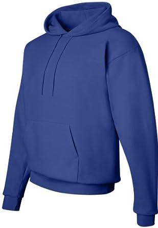 Hanes 7.8 oz. ComfortBlend� EcoSmart� 50/50 Pullover Hood - DEEP ROYAL - S