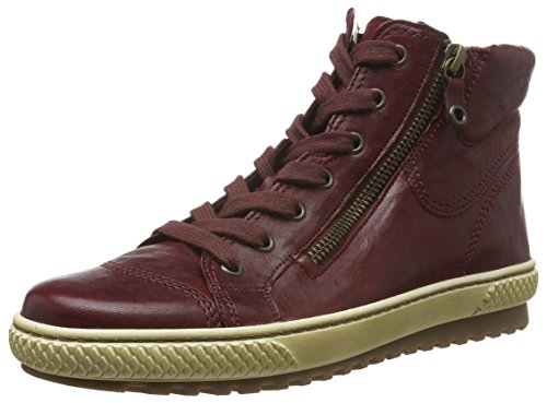 Gabor Gabor Jollys, Sneakers Alti Donna , Rosso (Rot (dark-red 55)), 35