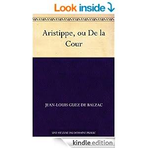Aristippe, ou De la Cour (French Edition)