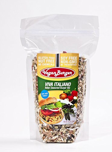 Vegan Burger Mix (9 servings total): Viva Italiano Flavor (Gluten Free Frozen Food compare prices)