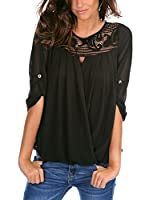 FRENCH CODE Blusa Alice (Negro)