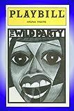 The Wild Party, Broadway Playbill + Toni Collette, Eartha Kitt, Norm Lewis, Mandy Patinkin, Marc Kudisch, Tonya Pinkins, Yancey Arias, Leah Hocking, Sally Murphy