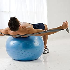 Gaiam Total Body Balance Ball Kit (75cm)