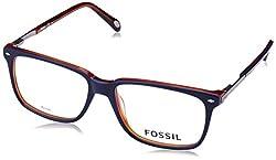 Fossil Wayfarer Blue Grange Crystal Frames FOS-6071-GSE-BLUE-HAVANA
