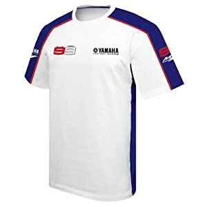 Jorge Lorenzo Yamaha T-shirt white XXL