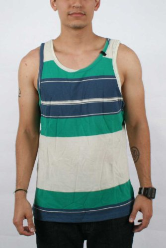 Volcom - Mens Ranger Tank, Size: Medium, Color: Blue Moon