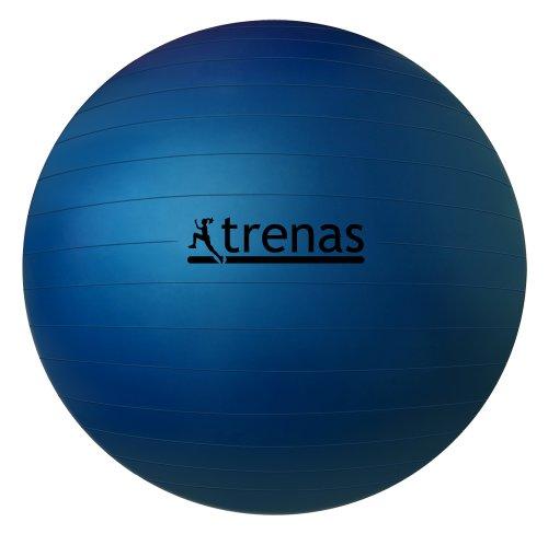Ballon de gymnastique 75 cm - Anti-éclatement avec pompe