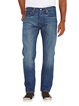 Levi's Men's 501 Original Fit Jeans, Leary, 28W x 32L