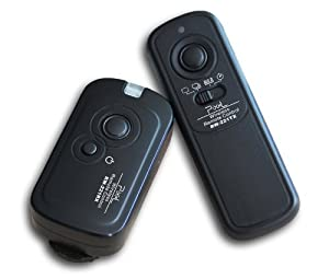 RainbowImaging 100 Meter 2.4GHz Wireless Remote Shutter Release for Panasonic Lumix DMC FZ20, FZ20K, FZ25, FZ30, FZ50, LC1, L10, L1, G1, GH1, GF1, GH2, G2 & Leica Digilux 1, DIGILUX 2, DIGILUX 3, Replaces panasonic DMW-RS1
