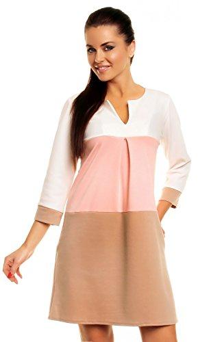 zeta-ville-damen-etuikleid-in-blockfarben-horizontalen-streifen-taschen-303z-pulver-rosa-beige-44