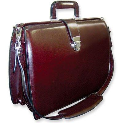 jack-georges-elements-burgundy-w-shoulder-strap-classic-briefbag-jg-bu4505ss