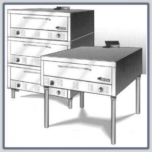 Peerless Gas Bake Oven (7In. High Deck) : Peerless Cw41B::Lpg::Sgl::Stainless Front & Sides