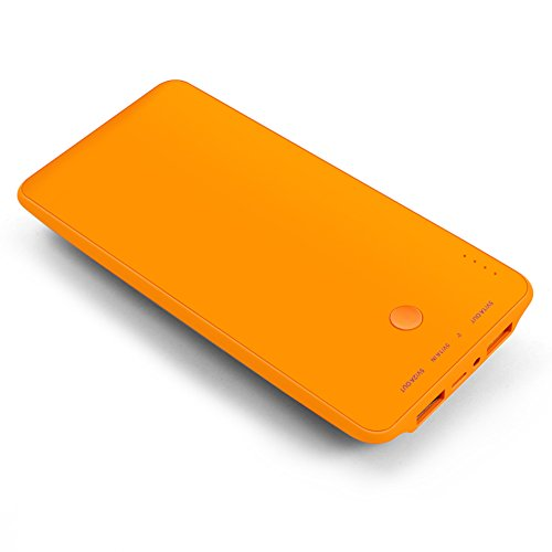 BAKTH 10000mAh External Battery Pack for Smartphones and Tablets Orange