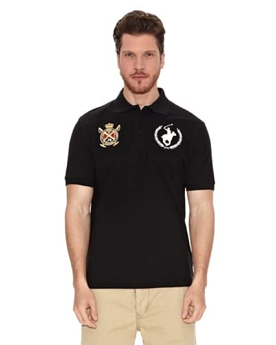 Polo Club Polo Custom Fit Negro