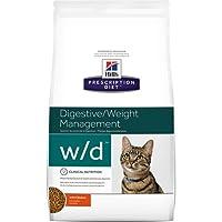 Hills W/D Low Fat Diabetic GI Health Cat Food 4 lb
