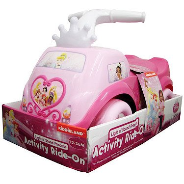 Princess ride-on toy for 2 year olds