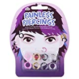 Coloured Painless Piercings - Clip-on Plastic Hoops