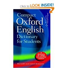 Image: Cover of The Oxford English Dictionary for Students