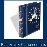 Leuchtturm 341040 VISTA álbum de monedas de euro, tomo 1 para 12 series de monedas de curso legal,con cajetí