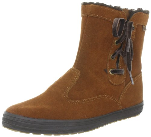 Keds Sunny Side Bootie WH45118, Stivaletti donna, Marrone (Braun (toffee brown)), 41