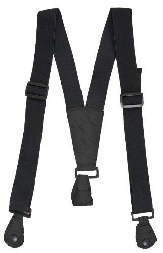 Trespass, Bretelle per pantaloni da sci, Nero (noir)