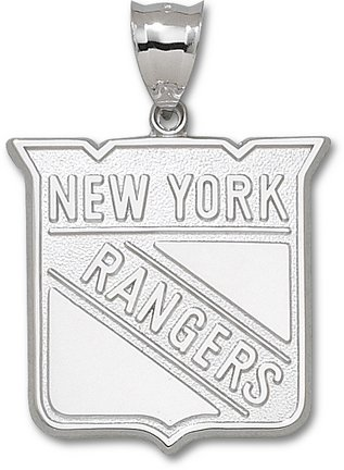 New York Rangers NHL Sterling Silver Charm