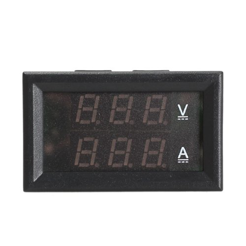 Vktech Dc 0-300V 10A Voltmeter Ammeter Red Led Panel Amp Digital Volt Gauge
