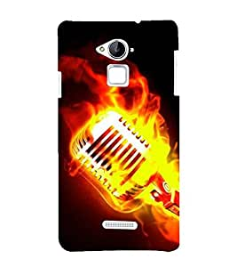 Vizagbeats Burning Mike Back Case Cover for Coolpad Note 3 Lite