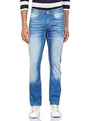 Pepe Jeans Men's PM201735G214-3 Slim Fit Jeans (8903872860333_PM201735G214_32W x 34L_Mid-Blst)