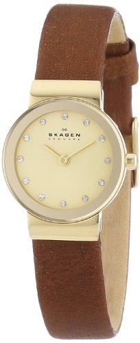 Skagen - SKW2175 - Montre Femme - Quartz Analogique - Bracelet Cuir Marron