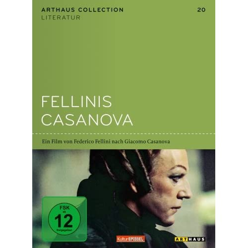 DVD-FELLINIS-CASANOVA-ARTHAUS-COLLECTION-LITERATUR-Import-allemand