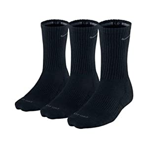 Nike Mens Dri-Fit Cushioned Crew Socks - 3 Pack by Nike