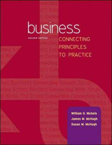 Business: Connecting Principles to Practice PDF
